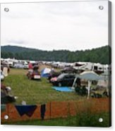 Camp Out Acrylic Print