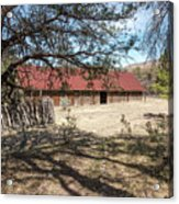 Camp Rucker Barn 2 Acrylic Print