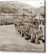Camp San Luis Obispo Army Base 40th Division Photo 143rd Field Artillery 1941 Acrylic Print