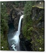 Campbell River Rain Forest Falls Acrylic Print