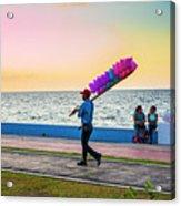 Campeche Colors Acrylic Print