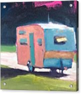 Camped Out Acrylic Print
