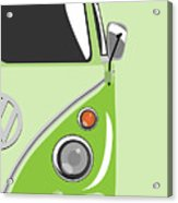 Camper Green 2 Acrylic Print by Michael Tompsett