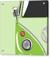 Camper Green Acrylic Print