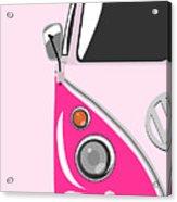 Camper Pink Acrylic Print