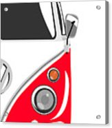 Camper Red 2 Acrylic Print by Michael Tompsett