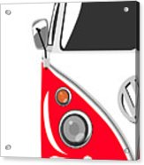 Camper Red Acrylic Print