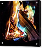 Campfire In July Acrylic Print