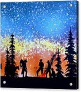Campfire Tales Acrylic Print