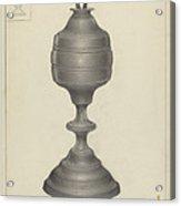 Camphene Lamp Acrylic Print