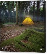 Camping Acrylic Print
