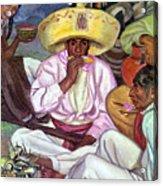 Camping Zapatistas, 1922 Acrylic Print