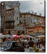 Campo Dei Fiori Acrylic Print