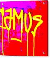 Camus ... Graffitied  Acrylic Print