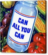 Can All You Can -- Ww2 Acrylic Print