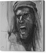 Can Anyone Speak Pashto Acrylic Print