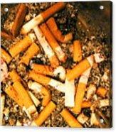 Can Give Up Smoking Acrylic Print