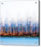 Can You Name The Skyline Acrylic Print