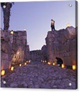 Canaanite Entrance Gate To El Megiddo Acrylic Print