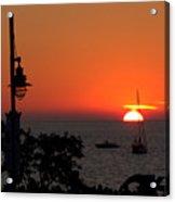 Canada 150th Birthday Sunset 4 Acrylic Print