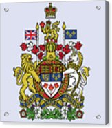 Canada Coat Of Arms Acrylic Print