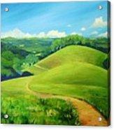 Canada Del Oro Ridge Acrylic Print
