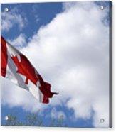 Canada Flag Acrylic Print