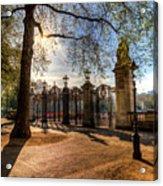 Canada Gate Green Park London Acrylic Print