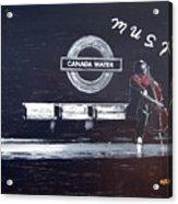 Canada Water Music Acrylic Print