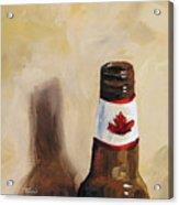 Canadian Beer Acrylic Print
