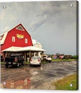 Canadian Farm After Storm Acrylic Print
