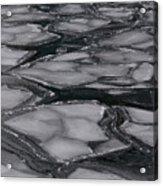 Canadian Ice Acrylic Print