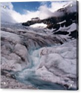 Canadian Rockies Glacier Acrylic Print