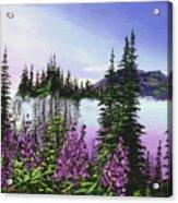 Canadian Sunrise Acrylic Print