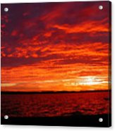 Canadian Sunset Acrylic Print