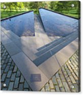 Canadian War Memorial Green Park London Acrylic Print