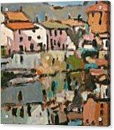 Canal Acrylic Print