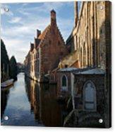 Canal By Church Acrylic Print