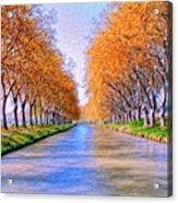 Canal Du Midi Acrylic Print