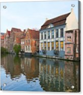 Channel In Ghent Acrylic Print
