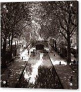 Canal Saint Martin 2 Acrylic Print