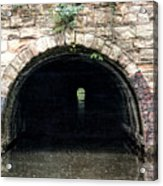 Canal Tunnel 2 Acrylic Print