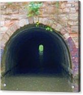 Canal Tunnel 3 Acrylic Print