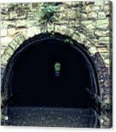 Canal Tunnel Acrylic Print