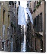 Canal. Venice Acrylic Print