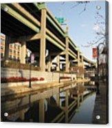 Richmond Canal Walk Through Shockoe Bottom Acrylic Print