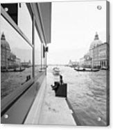 Canale Riflesso Acrylic Print