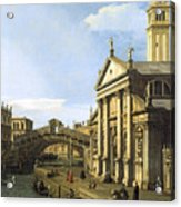 Canaletto Acrylic Print