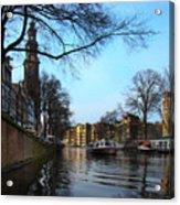 Canals Of Amsterdam IIi Acrylic Print