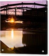 Canalside Dawn No 2 Acrylic Print
